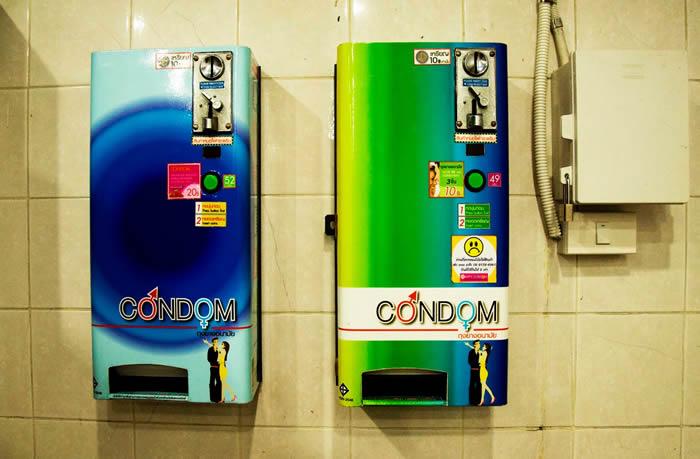 máquina vending venta preservativos