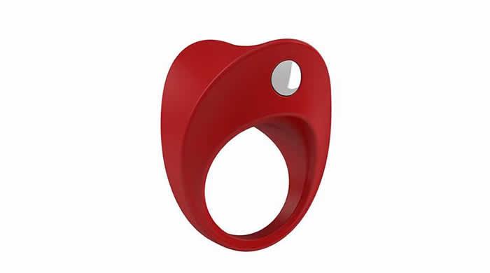 anillo vibrador rojo