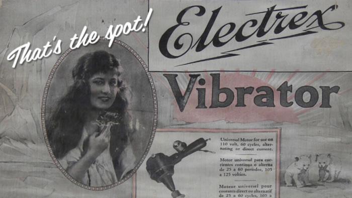 vibrador electrico vintage